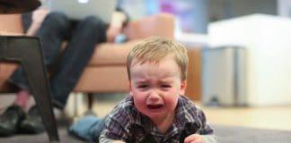 vaiko isterija